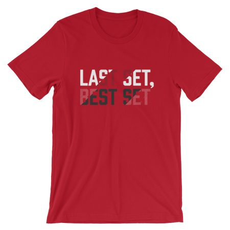 LAST SET BEST SET Short-Sleeve Unisex T-Shirt