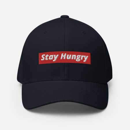 stay Hungry Structured Twill Cap